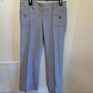 Tory Burch casual striped pants size 6